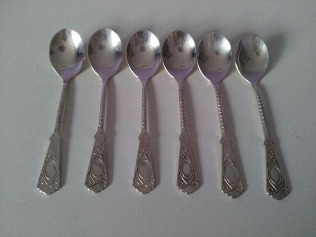 Komplet 6 łyżeczek platerowanych srebrem Czempiń - image 3