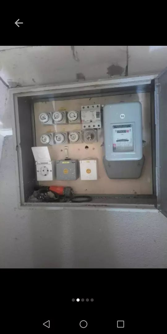Elektricna omarica in kabel 40m 0