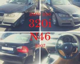 BMW E90 320i N46 2007 stripping for spares.