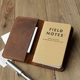 Handmade Leather Journal Cover A5