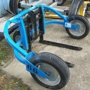 Wózek do palet kostki brukowej terenowy 1500 kg