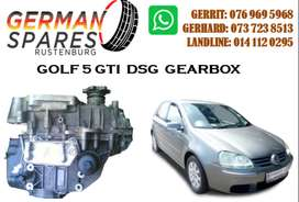 VW GOLF 5 GTI DSG GEARBOX FOR SALE