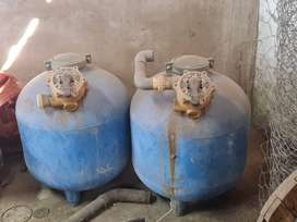 Sand Water filters.