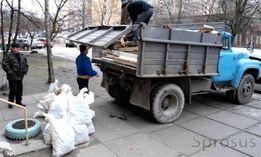 Вывоз мусора Донецк. Газель, Зил, Камаз, Трактор. Все районы.