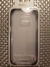 Etui pokrowiec Samsung S7 Edge clear cover plecki kejs fabrycznie nowy
