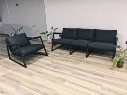 Диван кресло в стиле Loft. Мягкая Лофт мебель для кафе, кальянной.