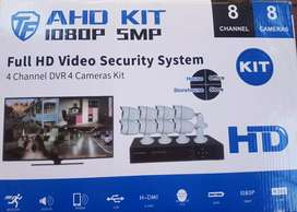 CCTV Security Surveillance KITS - 4 Channel - 2000TVL  (5G & In