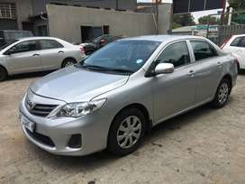 2012 Toyota Corolla 1.3 Advanced,94000 kilo For R97,000