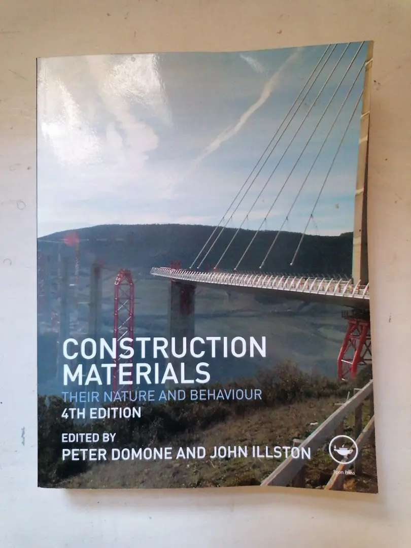 Construction materials: Their nature and behaviour 4th edition