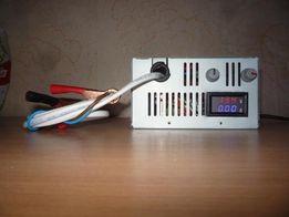 Лабораторный блок питания-зарядка: напряжение 0,1 - 20V; ток 0,2 - 10А