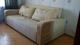 Диван кровать под перетяжку отличное спальное место. Срочно дешево!