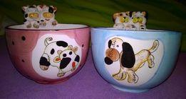 NOWA miseczka miska porcelanowa dla dziecka dekoracja fajans porcelana