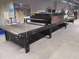 Browns Manufacturing TREX drying and curing tunnel