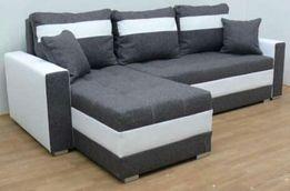 Nowy narożnik transport Gratis sofa kanapa rogówka tkanina Eco skóra