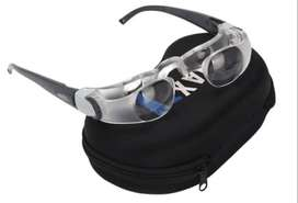 New! Magnifying glasses for Watching TV, 2.1x Magnifier & Lens Binocul