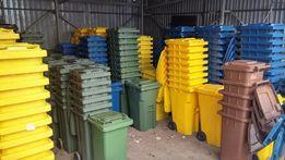 Pojemnik kosz na odpady 120 NOWE pojemniki na śmieci różne kolory