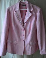 Пиджак классический женский большого цвет старой розы