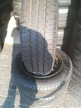 Set of New 205/65/R16c Michelin & Rims Quality tyres