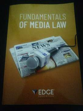Fundamentals of media law