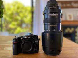 Selling my Nikon D7100 and Sigma 150-500mm