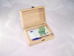 Шкатулки коробочки короба купюрницы заготовки футляры пеналы дуб.