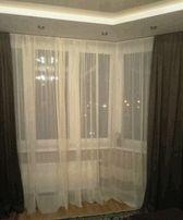 Подшивка штор, тюлей, 10 грн