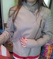 Кожанная куртка-косуха из Турции