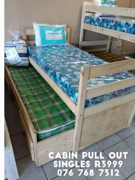 Cabin bed (2x singles)