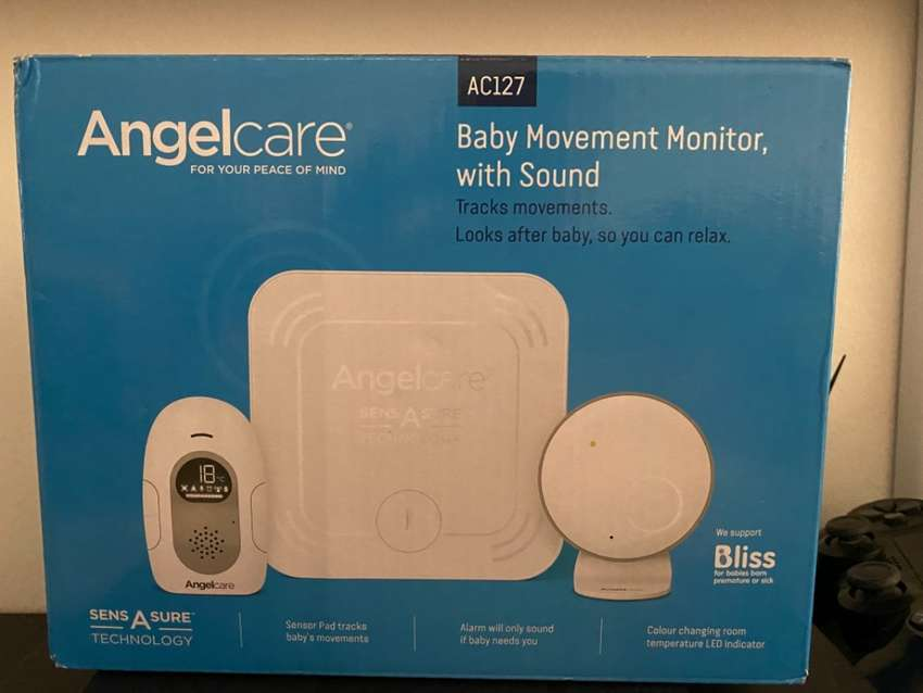 Baby Breathing and Movement Monitor.