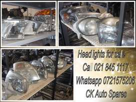 Headlights for sale for most vehicles make and models.