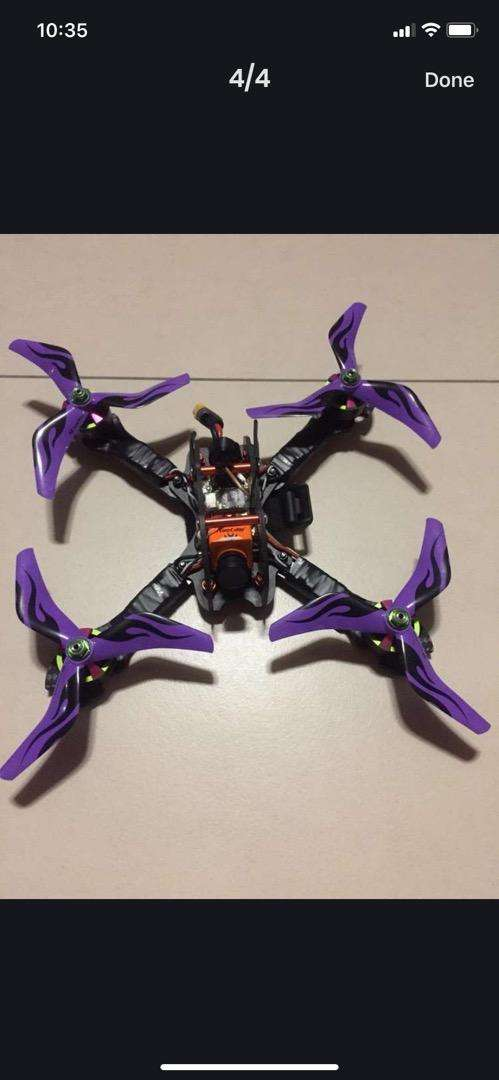 Quad Copter Drone-Friday Taboo with 2206 motors