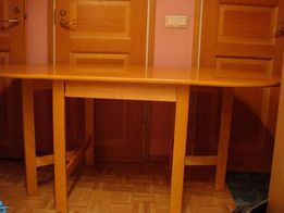 """Продам обеденный стол-""""раскладушка"""" (новый,из бука, """"ISKU"""", Finland)."""