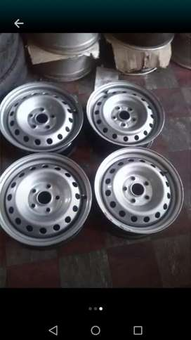 """15"""" Toyota hilux steel rims(5 holes) for 4x4"""