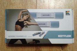 Ciężarki Hantle Kettler 2 x 0,5kg fitness oryginał nowe