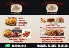 Mouth watering affordable meals for individuals and Groups !
