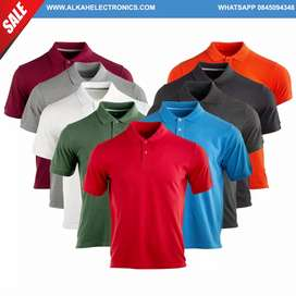 Golf t-shirts wholesale plain t shirts all colours  100% cotton