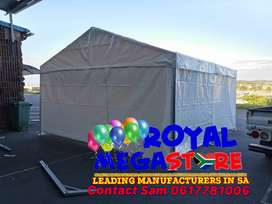 May Stretch Peg and Pole Frame Alpine Church Tents Mobile Vip Toilets