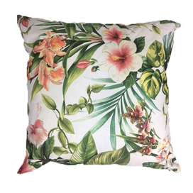 Pink Floral Scatter Cushion Cover 60cm x 60cm