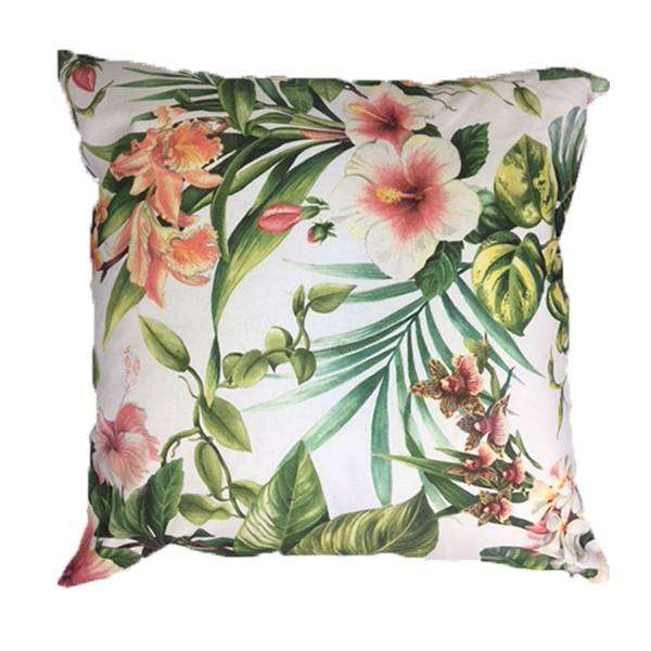 Pink Floral Scatter Cushion Cover 60cm x 60cm 0