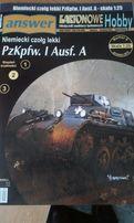 Answer model kartonowy niem. czołg lekki PzKpfw. I Ausf. A