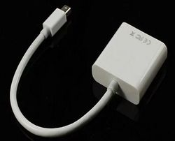 Apple Переходник mini DisplayPort DP в VGA Mac Кабель адаптер (наличие