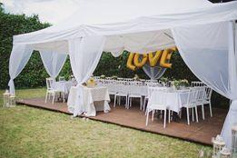 wypożyczalnia namiotów wynajem namiot urodziny biały śląsk