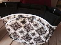 Image of designer Nappy bag