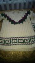 sweter długi na narty
