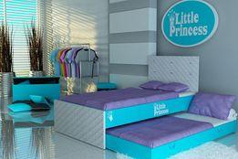 Łóżko dziecięce, piętrowe, 140x80, 160x80, 180x80, raty, różne kolory