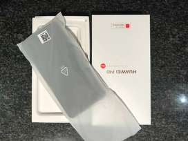 BARGAIN!! BRAND NEW FLAGSHIP SMARTPHONE - DUAL SIM SILVER FROST HAUWEI