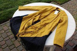 tunika narzutka sweter frędzle rozmiar 40 do 42
