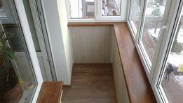 Ремонт балконов. Монтаж окон. Откосы