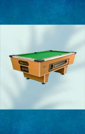 Coin-Operated Pool Table Easi Eight (Optional R1 / R2 / R5 / Coin).