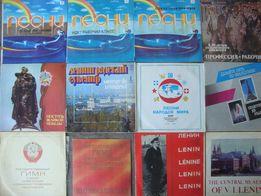 пластинка Комсомольские Песни Пионерские Песни